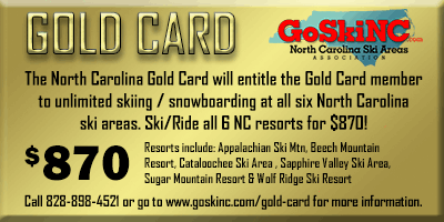 ski sapphire valley gold card